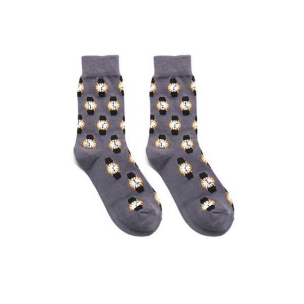 Casual Colorful Cotton Blend Harajuku Winter Socks - One Size | Christmas Apparel | All For Xmas