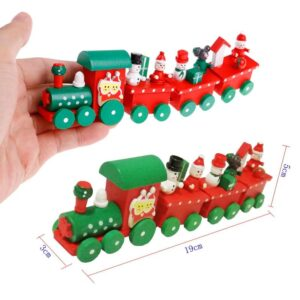 Wooden Train christmas decoration | Living Room & Christmas Tree Ornaments | All For Xmas