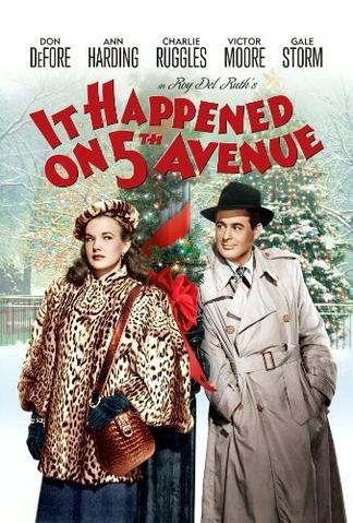 it happened on fifth avenue poster