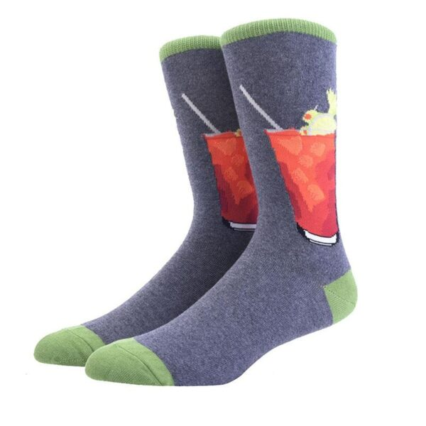 Funny Cotton Blend Colorful Socks | Christmas Apparel | All For Xmas